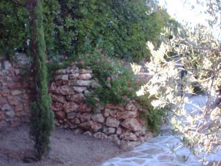Muret en rocailles , Issambres .