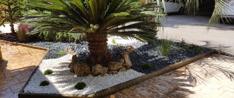 Création de jardin sec