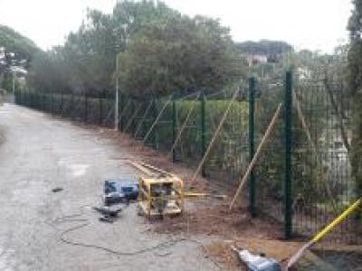 Création de clôture