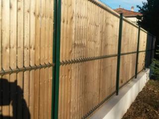 Réalisation de clôture en bois